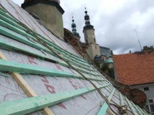 Rok 2007 Remont dachu kościół św. Mikołaja