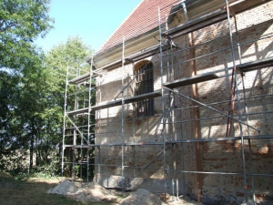 Rok 2009 Renowacja elewacji kościół na Glinianej Górce