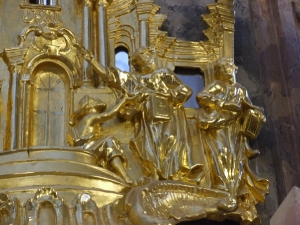 Rok 2010 Renowacja ambony kościół parafialnym