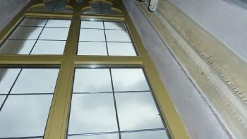 Rok 2013 Renowacja witraży prezbiterium