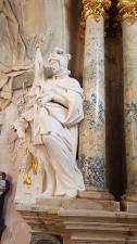 Rok 2017 prace konserwatorskie w południowej nawie bocznej kościoła parafialnego pw. św. Bartłomieja Apostoła